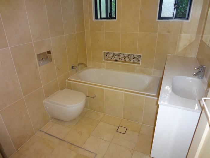 bathroom renovation northmead