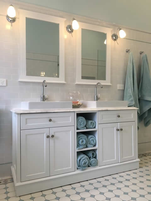 traditional bathroom renovation