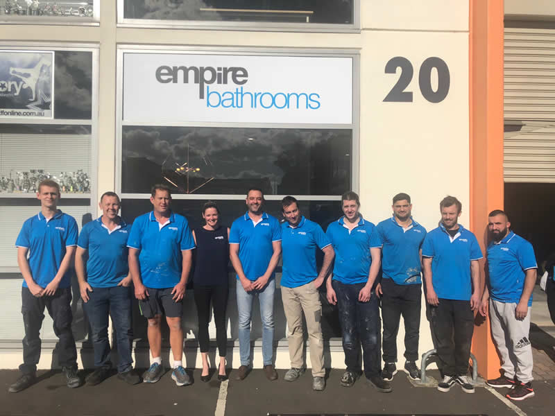 empire bathrooms dural team